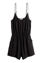 Kort jumpsuit - Svart - Ladies | H&M FI 2