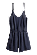 Playsuit - 深蓝色 - Ladies | H&M CN 2