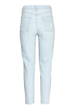 Embroidered jeans - Light denim blue - Ladies | H&M CN 2