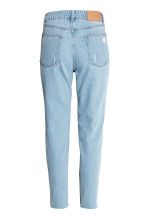 Mom Jeans Trashed - Licht denimblauw - DAMES | H&M BE 3