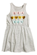 Jersey dress - Grey marl - Kids | H&M 2
