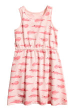 Jersey dress - Light pink - Kids | H&M CN 2