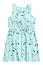 Jersey dress - Light turquoise - Kids | H&M 2