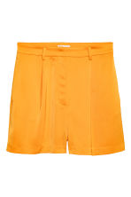 High-waisted shorts - Orange - Ladies | H&M CN 2