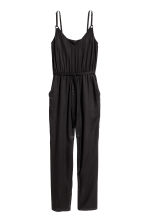V-neck jumpsuit - Black - Ladies | H&M 2