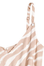V領連身褲裝 - Beige/Zebra - Ladies | H&M 3