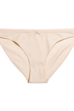 3-pack bikini briefs - Grey/Striped - Ladies | H&M 3