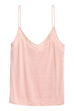 V-neck strappy top - Powder pink - Ladies | H&M 2