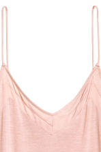 V-neck strappy top - Powder pink - Ladies | H&M 3