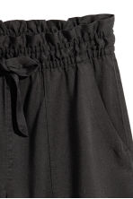 Lyocell shorts - Black - Ladies | H&M 3