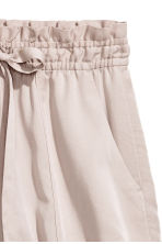 Lyocell shorts - Light mole - Ladies | H&M 3