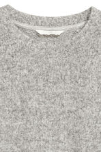 Fine-knit jumper - Grey marl -  | H&M 3