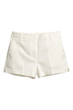Short stretch shorts - White - Ladies | H&M CN 2