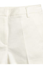 Short stretch shorts - White - Ladies | H&M CN 3