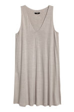 V-neck jersey dress - Light mole - Ladies | H&M 2