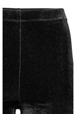 Velour leggings - Black - Ladies | H&M 3