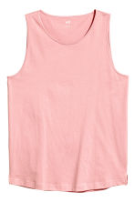 Vest top - Light pink - Men | H&M 2