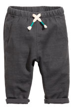 T-shirt and trousers - Grey marl - Kids | H&M 2