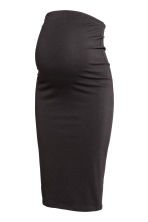MAMA Jersey pencil skirt - Black - Ladies | H&M 2