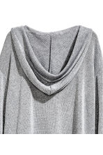 Knitted hooded jumper - Grey - Ladies | H&M CN 3