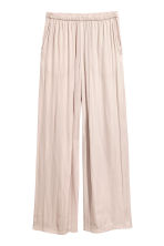 Wide trousers - Light mole - Ladies | H&M 2