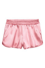 Shorts in satin - Rosa chiaro - DONNA | H&M IT 2
