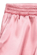 Shorts in satin - Rosa chiaro - DONNA | H&M IT 3