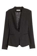 Fitted jacket - Preto -  | H&M PT 2