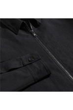 Wool-blend shirt jacket - Black - Men | H&M 3
