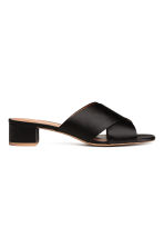 Mules - Black - Ladies | H&M 2