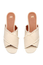 Mules - Natural white - Ladies | H&M 3