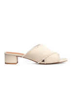 Mules - Natural white - Ladies | H&M 2