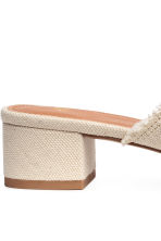 Mules - Natural white - Ladies | H&M 5