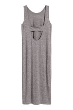Jersey dress - Grey marl - Ladies | H&M CN 3
