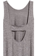 Jersey dress - Grey marl - Ladies | H&M CN 4