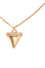 Necklace with a pendant - Gold -  | H&M CA 2