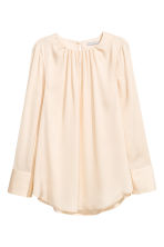 長袖女衫 - Light beige -  | H&M 1