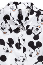 Patterned shirt - White/Mickey Mouse - Ladies | H&M CN 3