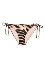 Tie-tanga bikini bottoms - Tiger print - Ladies | H&M 2