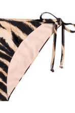 Tie-tanga bikini bottoms - Tiger print - Ladies | H&M 3