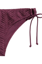 Lace bikini bottoms - Plum - Ladies | H&M 3