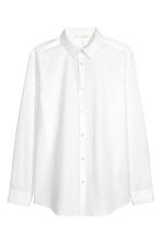 Cotton shirt - White -  | H&M 2
