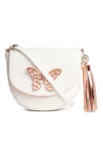 Small shoulder bag - White/Butterfly - Kids | H&M 1
