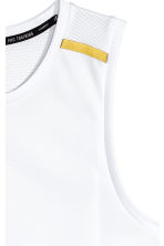 Sports vest - White - Men | H&M 3