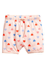 Jersey pyjamas - Powder pink/Hearts - Kids | H&M CN 2