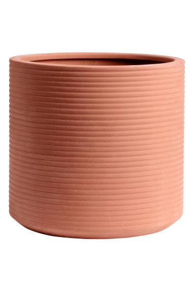 Coprivaso grande in terracotta - Terracotta - HOME | H&M IT 1