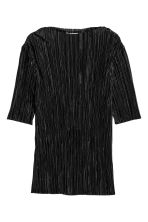 Pleated top - Black - Ladies | H&M 2