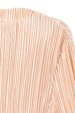 Pleated top - Powder - Ladies | H&M 3