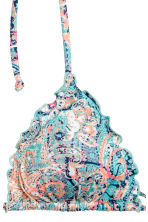 Triangle bikini top - Turquoise/Paisley - Ladies | H&M 4