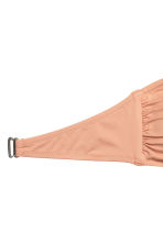 Bandeau bikini top - Powder beige - Ladies | H&M 3